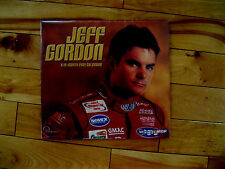 RARE SEALED NASCAR CALENDAR Jeff Gordon 16 Month 2001!