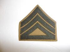 13018p WW2 USMC Staff Sergeant Rank Chevron khaki pair Summer R6B