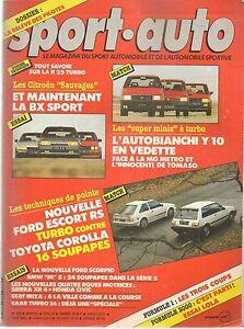 SPORT AUTO 279 1985 BMW M5 E28 RALLYE PORTUGAL ESCORT RS TURBO COROLLA GT16