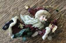 """Vintage Boyds Folkstone Collection """"Nicholas The Giftgiver"""" Christmas Ornament"""