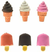 48 Ice Cream Cone & Frozen Rubbers / Party Bag Fillers