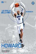 LIBRO BOOK N° 37 DWIGHT HOWARD LE STELLE DELLA NBA AI RAGGI X ORLANDO MAGIC