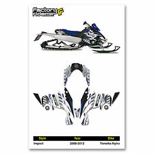 2008-2012 YAMAHA NYTRO SNOWMOBILE GRAPHICS IMPACT STYLE BY ENJOY MFG