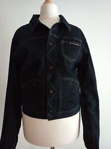 Le Jean De Marithe Francois Girbaud  Dark Jacket Size S/XS