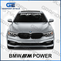 1 stück - BMW /// M Power - Frontscheiben Aufkleber - Car Sticker - L 97cm !<o>!