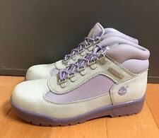 VINTAGE TIMBERLAND FIELD BOOT GREY PURPLE VINTAGE GIRLS KIDS GS SZ 4-7 Y  16978