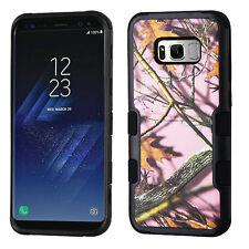 Samsung GALAXY S8 /PLUS Impact TUFF HYBRID Armor Rubber Rugged Case Phone Cover