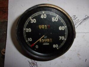 vintage Jaeger speedometer S.426  80 mph jowett austin morris standard other