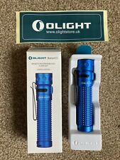 Olight Baton Pro Blue Limited Time Edition Boxed Display Piece 2000 Lumens
