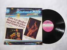 JOHN LEE HOOKER/BROWNIE McGHEE/SONNY TERRY ~ NrM/VG+ ~ 1981 BLUES VINYL LP