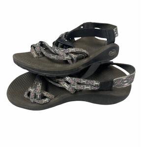 CHACO W7 Classic Double Strap Vibram Hiking Sandal Womens Size 7
