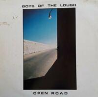Boys Of The Lough-Open Road Vinyl LP.1983 Topic 12TS433.On Raglan Road+