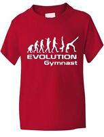 Evolution Of Gymnast Sport  Funny Boys Girls Kids T-Shirt Birthday Gift Age 1-13