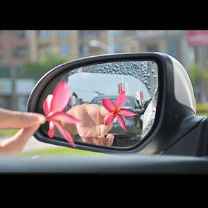 2x Waterproof For Car Rearview Mirror Rainproof Anti-Fog Rain-Proof Film Sticker