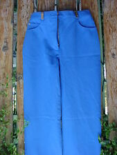 ST. JOHN SPORT SIZE 0 BLUE PANTS with 31-inch inseam BY MARIE GRAY USED NICE!!