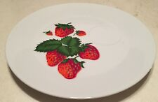 Georges Briard Strawberry Cocktail Plates