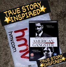Thriller Mystery American Gangster 2007 Film Dvds For