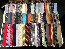 Wholesale Lots (100 PCS.) Mens Name Brand ONLY Silk Ties