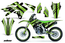 AMR Racing Kawasaki KX250 Graphic Number Plate Kit Bike Decal MX Part 13-15 IN G