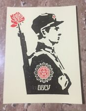 """OBEY Giant Shepard Fairey """"Rose Soldier"""" Limited Edition Sticker"""