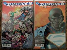 Justice League #51 error variant + standard cover
