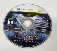 Batman: Arkham Asylum (Microsoft Xbox 360, 2009) Disc Only Tested Working
