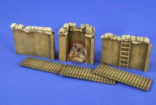 Verlinden 1/35 Sandbagged Modular Trench System II with Observation MG Post 2667