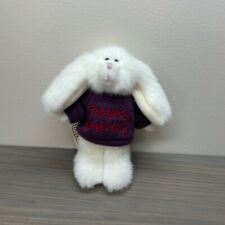 """Boyds Bears Mini Message Bunny Rabbit Archive Collection """"Merci"""" Style # 567014"""