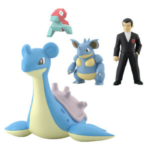 Premium Bandai Pokemon Scale World Kanto Region Sylph Company Set