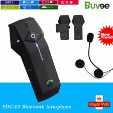 1000M Interphone NFC BT Bluetooth Motorbike Motorcycle Helmet Intercom Headset