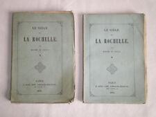 LE SIÈGE DE LA ROCHELLE PAR MME DE GENLIS 1853