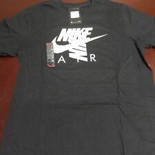 Nike City Brights Air Logo T-Shirt sz Large Black Green Gray Futura Max
