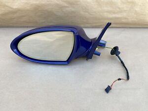 2004-2008 BMW E60 M5 OEM LEFT SIDE VIEW MIRROR, BLUE COLOR