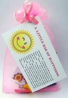 LITTLE BAG OF HAPPINESS PERSONALISED BIRTHDAY PRESENT HAPPY NOVELTY GIFT CARD