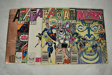 Avengers 1st Series Comic Books 6 Lot 285 289 300 314 318 360 FN Spider-Man
