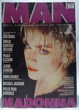 Madonna MAN Spanish Magazine Revista 1987 rare no promo