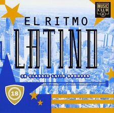 El Ritmo Latino-18 classic Latin Grooves Tito Puente, Eddie Palmieri, Joh.. [CD]