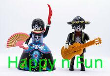 Playmobil couple n°2 Catrina mexicain / Katrina mexican couple / Neuf - new