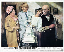 TILL DEATH US DO PART ORIGLOBBY CARD WARREN MITCHELL UNA STUBBS ANTHONY BOOTH
