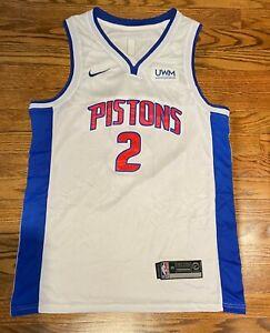 Detroit Pistons Cade Cunningham White Jersey Men's M (Read Description)