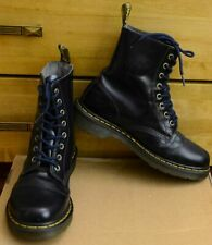 Dr Martens Pascal, 8 eye Plum Shoes, Size UK 7, EU 41