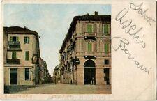 1905 Alessandria - Vista di Corso Roma - FP COL VG