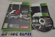 F1 FORMULA 1 2013 XBOX 360 (Complet, envoi suivi, vendeur pro)