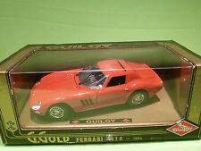 GUILOY 67525 FERRARI GTO 1964 - 1:18 - NEAR MINT CONDITION IN BOX