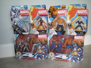 Marvel Universe 3.75 Legends Fantastic Four Future Fnd. 3 Pack Human Torch Thing