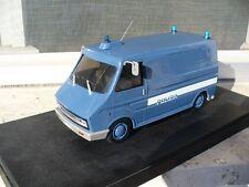 1:25 Piko 1974 Fiat 242 Polizia di Stato Artificieri ITA police plastic NO 1:24