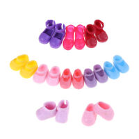 5Pairs Fashion Shoes Boots For  Sister Kelly Eva Doll Kids Giftc BHCA