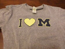 Michigan Wolverines used youth kids large college football shirt
