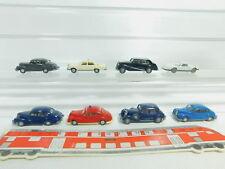 BO624-0, 5 #8x Wiking H0 / 1:87 Camión: Opel + Rolls Royce + BMW + Mercedes / MB