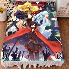 "Anime Game RWBY Girl Cosplay Bed Sheet Cover Otaku Bedding Sheets 59""X78.7"" ¥2"